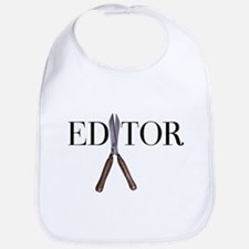 Editor—Hedge Shears Bib
