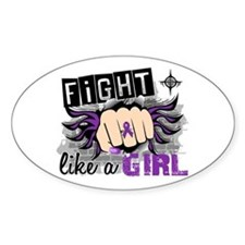 Fight Like A Girl Lupus Decal