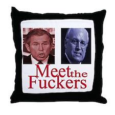 Cute Cheney Throw Pillow
