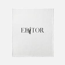 Editor—Knife Throw Blanket