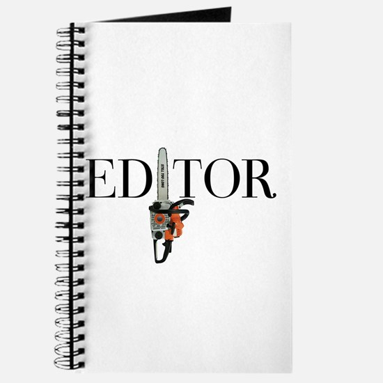 Editor—Chainsaw Journal