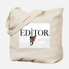 Editor—Chainsaw Tote Bag