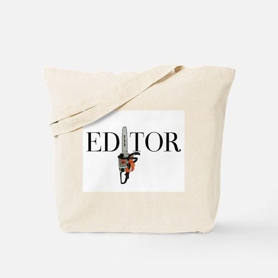 Editor—Chainsaw Tote Bag