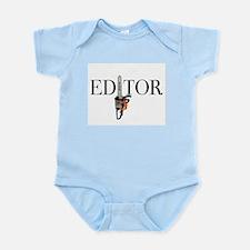 Editor—Chainsaw Infant Bodysuit