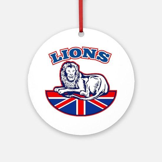 British Lions Ornament (Round)