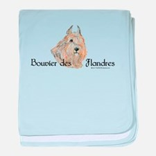 Bouvier Sweetie baby blanket