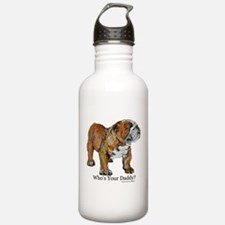 Bulldog Daddy Sports Water Bottle