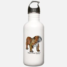 Bulldog Daddy Water Bottle