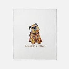 Brussels Griffon Throw Blanket