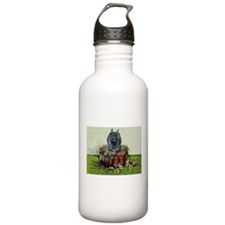 Brussels Basket Griffon Dog Water Bottle