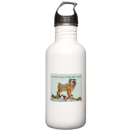 Brussels Griffon Chris Stainless Water Bottle 1.0L
