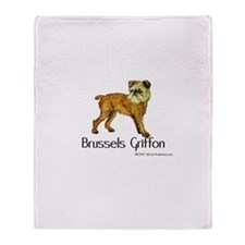 Brussels Griffon Throw Blanket