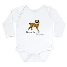 Brussels Griffon Long Sleeve Infant Bodysuit