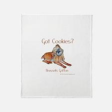 Brussels Griffon Cookies! Throw Blanket