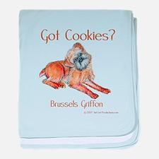 Brussels Griffon Cookies! baby blanket