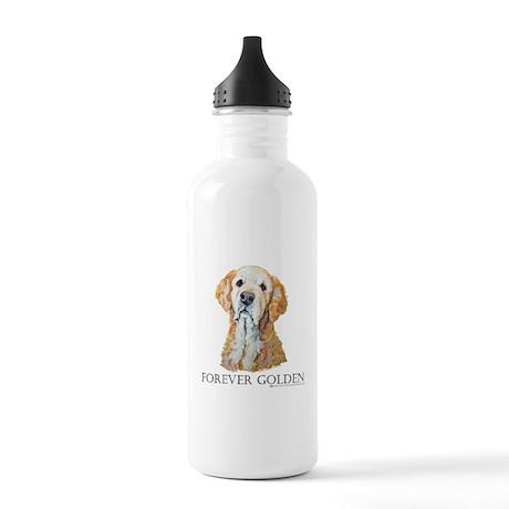 Golden Retrievers Hunting Dog Stainless Water Bott