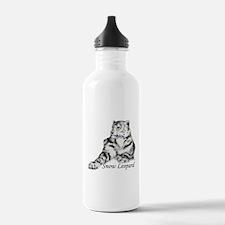 Snow Leopard Water Bottle
