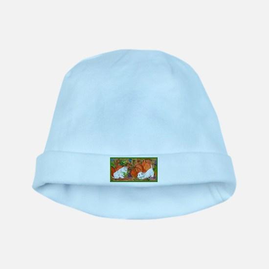 West Highland Terrier Halloween baby hat