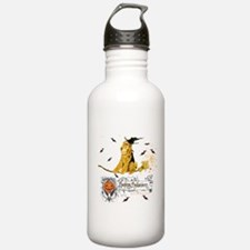 Halloween Airedale Water Bottle