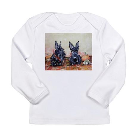 Autumn Scotties Long Sleeve Infant T-Shirt