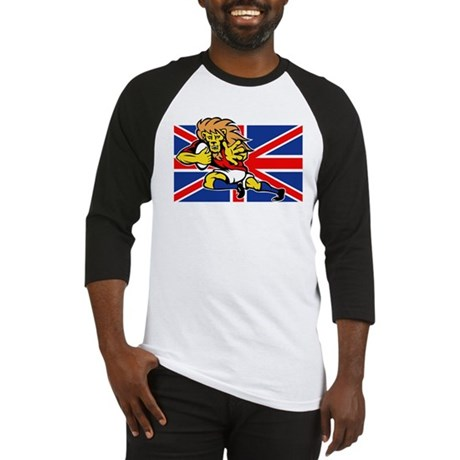 British Lion rugby Baseball Jersey