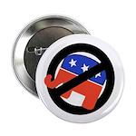 Ten Defeated Republican Elephant Buttons