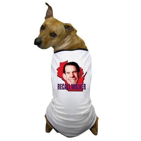 Recall Wisconsin Governor Sco Dog T-Shirt