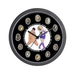 "SERIES G: ""Rock Around the Clock"" Wall Clock"
