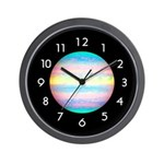 PLANETARY SERIES:  Jupiter Wall Clock
