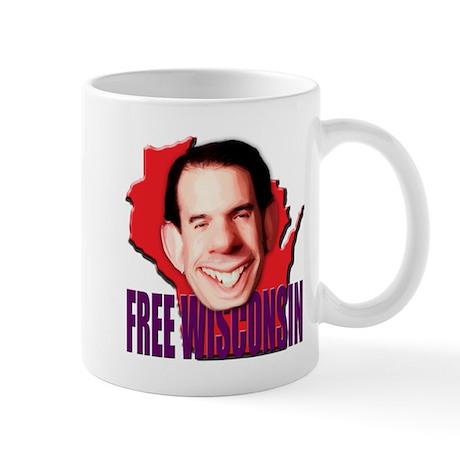Free Wisconsin From Walker Mug