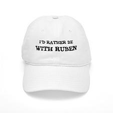 With Ruben Baseball Cap