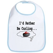 I'd Rather Be Curling.. Bib
