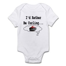 I'd Rather Be Curling.. Infant Creeper
