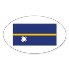 Nauru Flag Decal