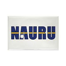 Nauru Rectangle Magnet