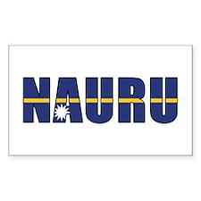 Nauru Decal