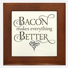 Bacon Makes Better Framed Tile