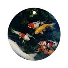 Koi Ornament (Round)