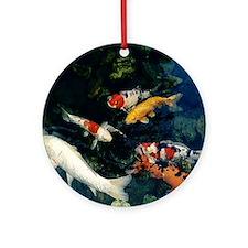 Koi Ornament (Round)