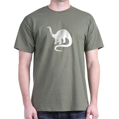 Brontosaurus Black T-Shirt