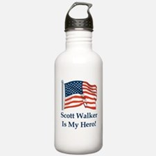 Scott Walker is my hero! Water Bottle