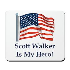 Scott Walker is my hero! Mousepad