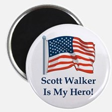 Scott Walker is my hero! Magnet