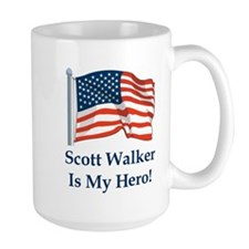 Scott Walker is my hero! Mug