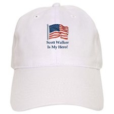 Scott Walker is my hero! Baseball Cap