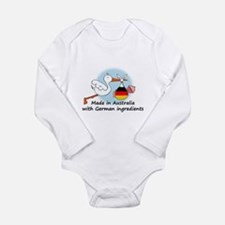 Stork Baby Germany Australia Long Sleeve Infant Bo