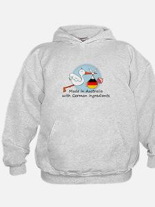 Stork Baby Germany Australia Hoodie