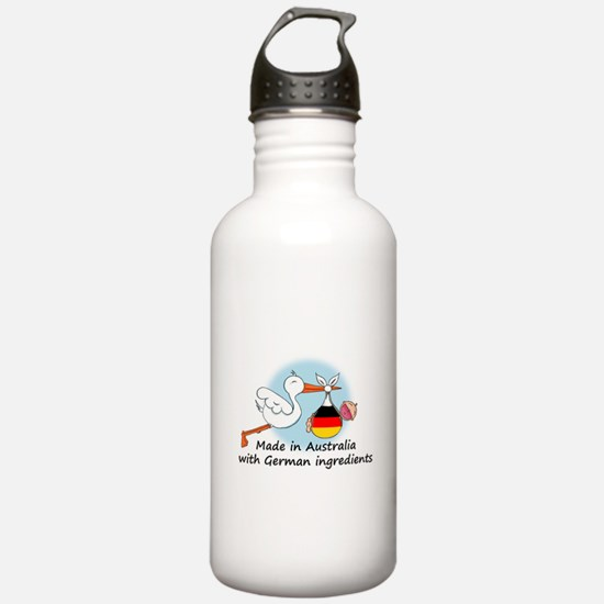 Stork Baby Germany Australia Water Bottle