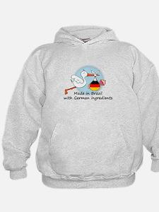 Stork Baby Germany Brazil Hoodie