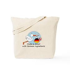 Stork Baby Germany Brazil Tote Bag